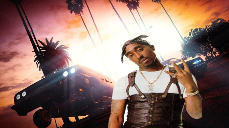 2Pac - California Thugs (Ft. Ice cube, Snoop Dogg Dr. Dre) Westcoast Banger