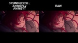 Sword Art Online Alicization Episode 10 Rape Scene Uncensored VS Censored