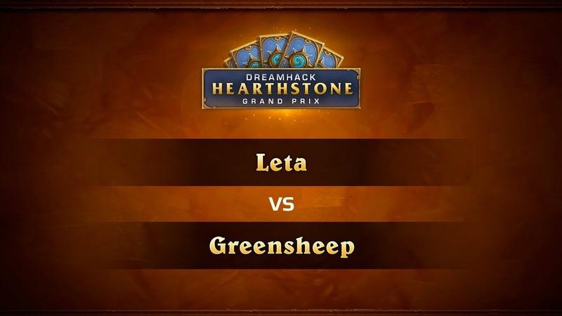 Leta vs Greensheep, 1/4, DreamHack Summer 2018