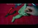 10 Присоединение рук и ног к туловищу при помощи шплинтов Набивка тела Видеокурс Текстильный шарн