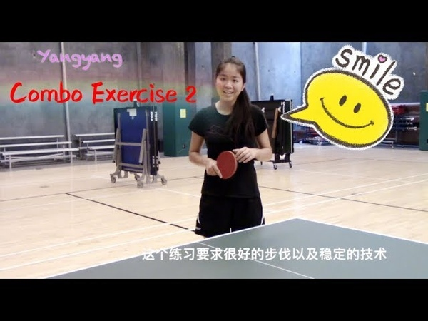 Forehand Push Forehand Loop Topspins—Yangyangs table tennis lessons