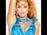 Paulina Rubio Mia Letra