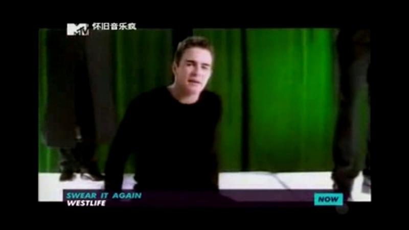 Westlife - swear it again mtv china