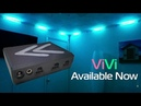 ViVi - Fully Automated Reactive Music LED Controller with VibeSync Technology. Compact and Wearable.