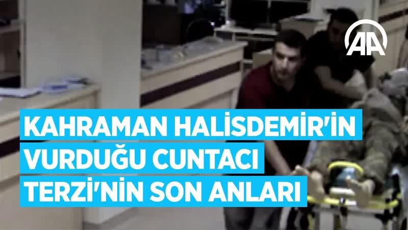 Kahraman Ömer Halisdemirin vurduğu cuntacı Semih Terzinin son anları