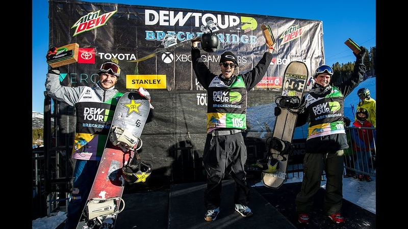 Stale Sandbech Winning Runs from Men's Slopestyle Finals at the 2018 Dew Tour