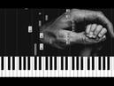 Максим Фадеев - Ангелы На пианино Piano tutorial