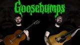 Goosebumps TV Show Theme - Guitar Cover ACOUSTIC - Super Guitar Bros