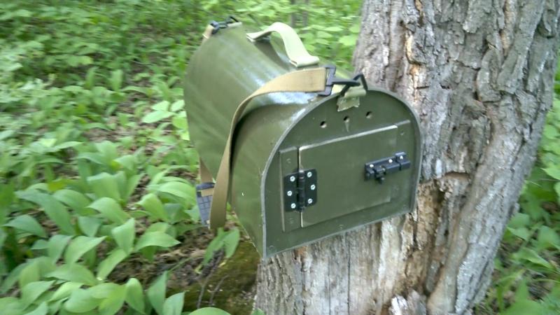 Переносной ящик для подсадных уток.