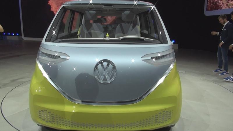 Volkswagen I.D. Buzz Concept Exterior and Interior