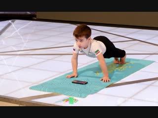 Пятилетний мальчик из Чечни установил мировой рекорд по отжиманиям