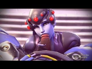 [Overwatch]-Widowmaker blowjob porn