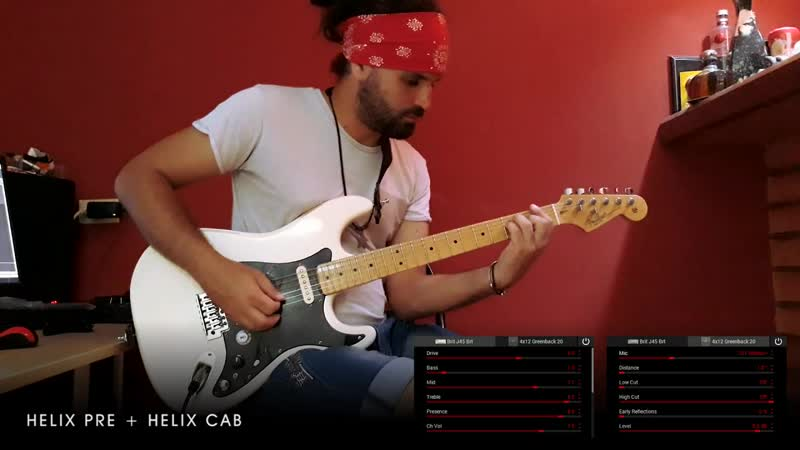 Line6 Helix Vs VOX ToneLab ST Amps and PreAmps Compared JTM45 JCM800 TwinReverb Deluxe