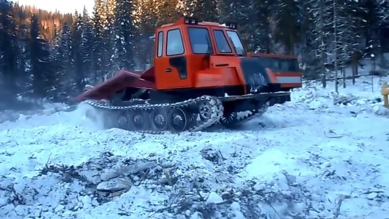 ТЛ-5АЛМ (аналоги ТТ-4М, ТСМ-ШГ, ТЛП-4М) - трелёвочный трактор 4 тонны тяги
