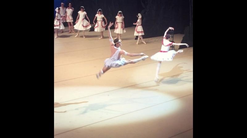 "Video - 42, 19.07.2018 ""La Fille du Pharaon"" Svetlana Zakharova and Denis Rodkin, BolshoiTheatre 🎭"