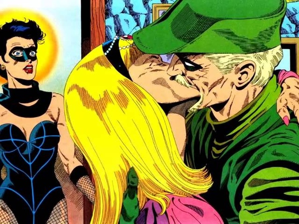 Green Arrow and Black Canary - Fighter