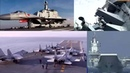 China's High Powered, High-tech And Modern Navy Ships And Aircraft