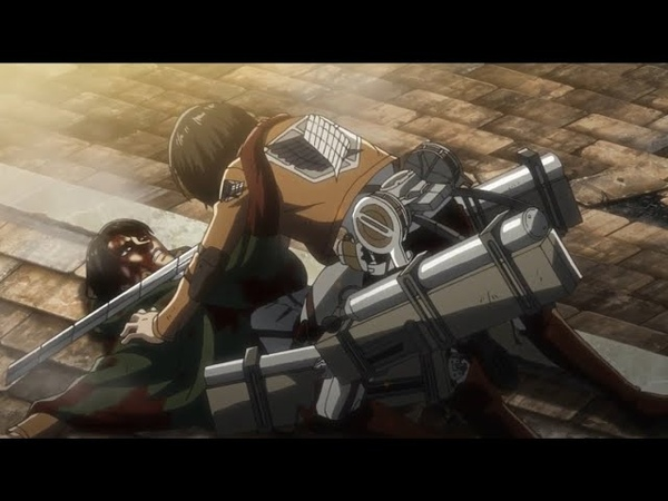 Ending Scene Mikasa Tries To... Kill Levi | Attack On Titan Season 3 | Eng Sub