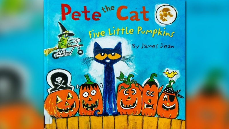 Pete The Cat Five Little Pumpkins by James Dean | CHILDREN'S BOOK READ ALOUD