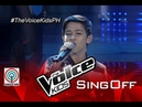"""The Voice Kids Philippines 2015 Sing-Off Performance: """"The Man Who Can't be Moved"""" by Benedict"""