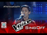 The Voice Kids Philippines 2015 Sing-Off Performance The Man Who Can't be Moved by Benedict