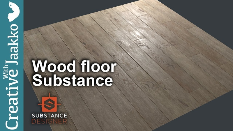 Wood Floor PBR in Substance Designer