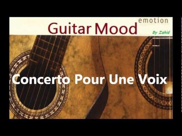 Guitar Mood - Concerto Pour Une Voix