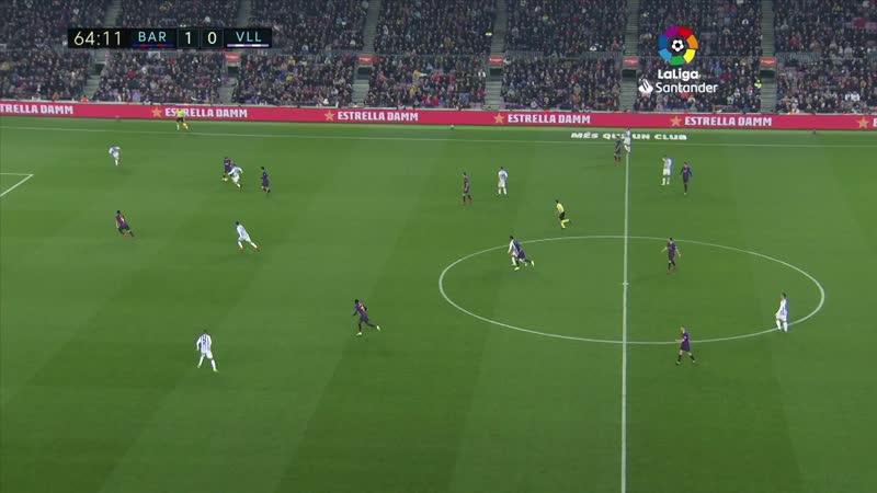 Барселона 1:0 Вальядолид
