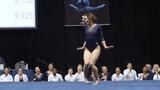 Американская гимнастка феерично выступила под музыку Майкла Джексона