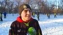 В России умеют играть в футбол А в Тюмени умеют даже на снегу