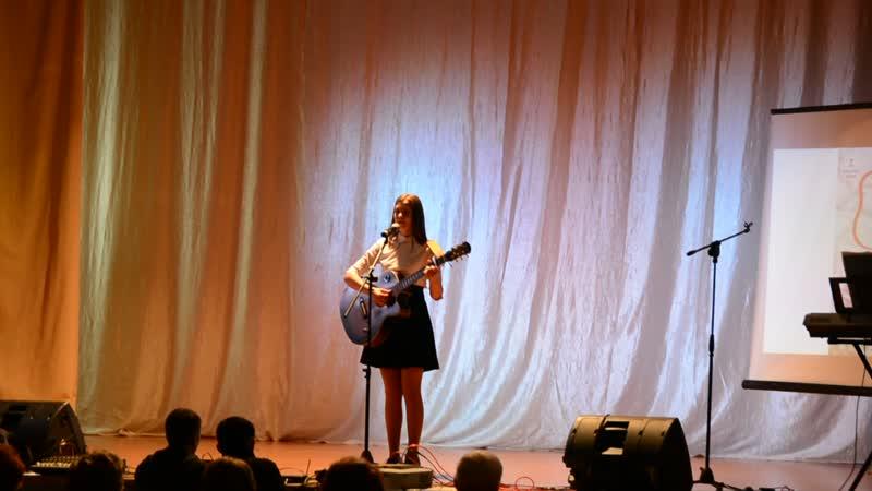 Анна Виноградова Фестиваль солдатской песни 17 11 18 Ижевск