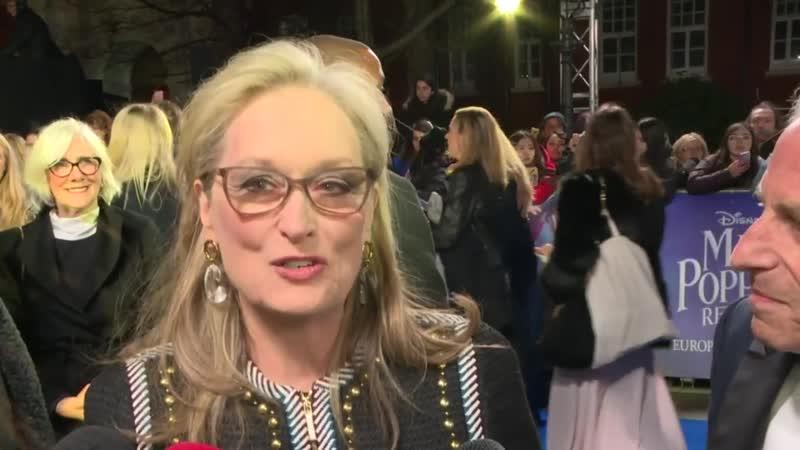 Meryl Streep says Mary Poppins is a gift
