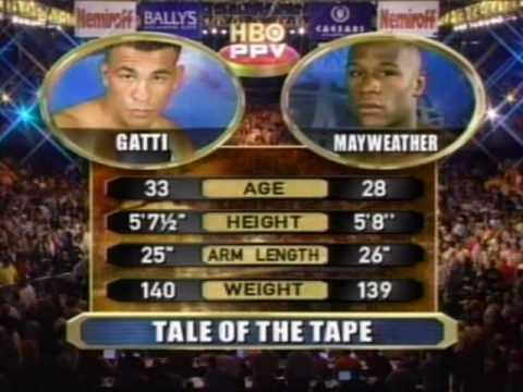 Floyd Mayweather Jr vs Arturo Gatti Pt 1
