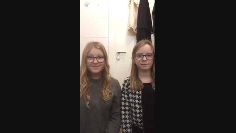 - We hope you like it😊💗 Vi hoppas ni gillar den ❄ winter sistersfromsweden wednesday foryou