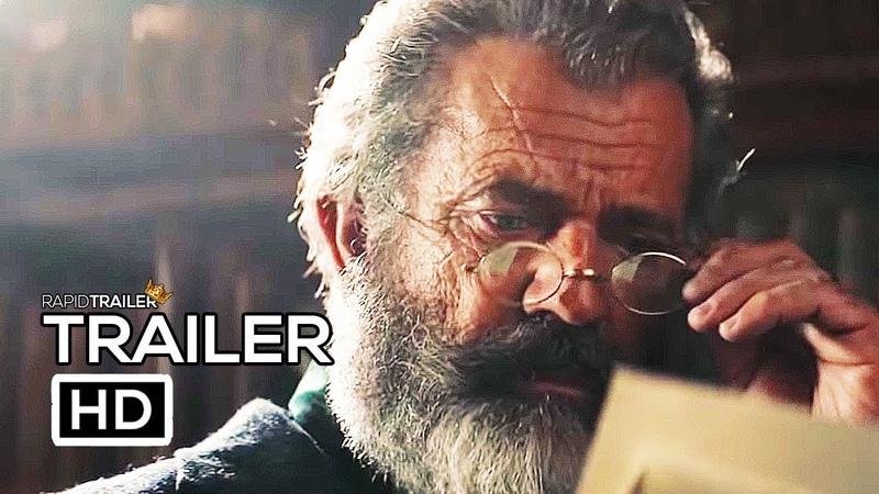 THE PROFESSOR AND THE MADMAN Official Trailer (2019) Mel Gibson, Sean Penn Movie HD