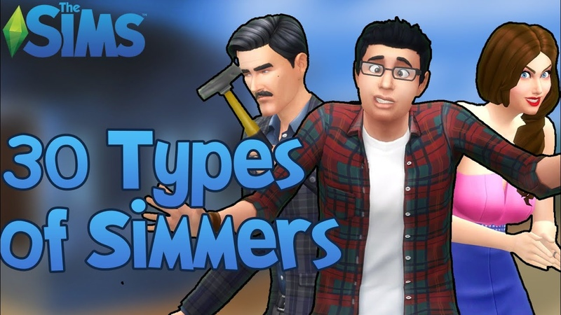 The Sims 30 Types of The Sims Players!