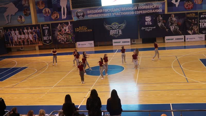 Факультет лингвистики (танцевальная программа) | Фитнес-фестиваль ВятГУ