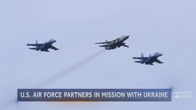 Они еще и летают Украинские Су 27 назвали дышащими на ладан ржавыми самолетами