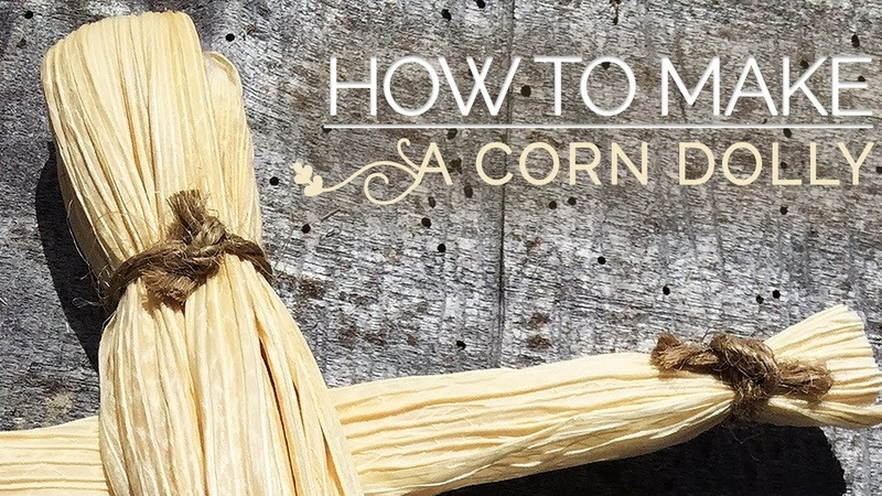 How To Make A Corn Dolly Corn Husk Doll