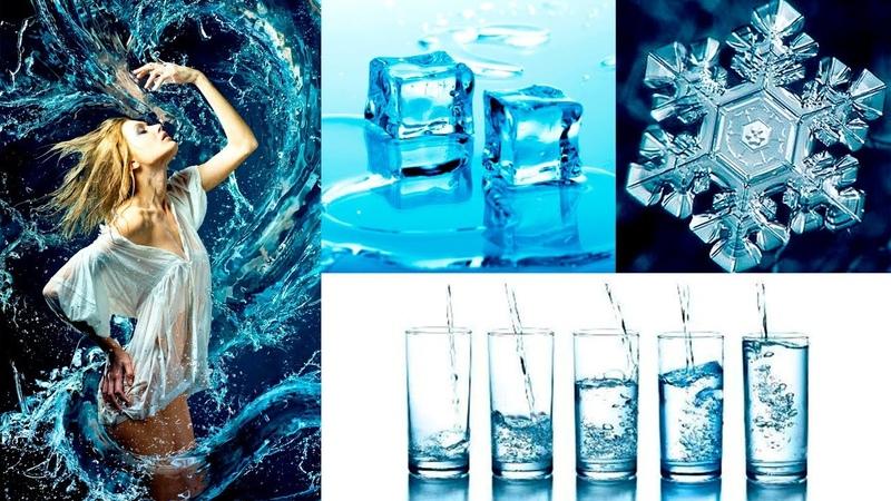 Энергетика воды живая мёртвая Очищение Заморозка Заговор Родниковая дистиллированная вода