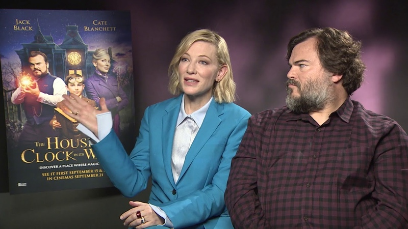Cate Blanchett and Jack Black on new film: The House With A Clock In Its Walls