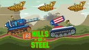 Hills of steel Android gameplay Mammoth tank destroy 100 tanks Games bii