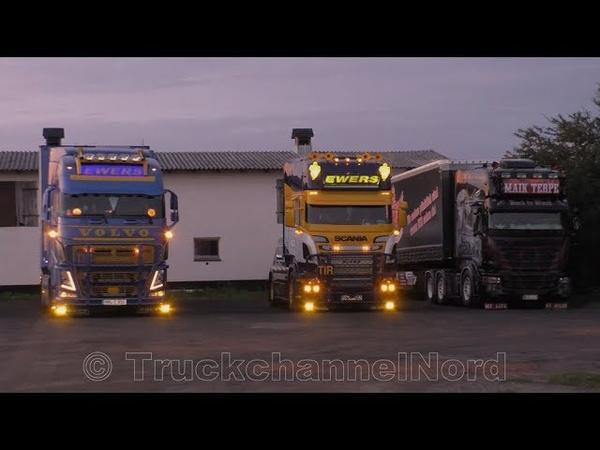 Ewers Kühltransporte SCANIA R500 V8 VOLVO FH