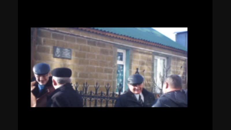 На Михайлов день была открыта мемориальная доска первому почётному гражданину посёлка Камыши