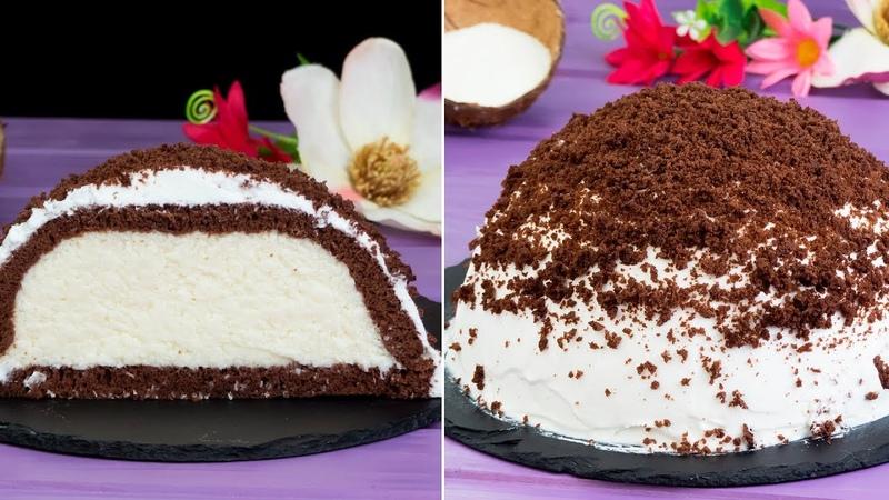 """Теперь у вас дома Необычный обалденный турецкий торт """"Кюмбет Паста"""" с кокосом"""