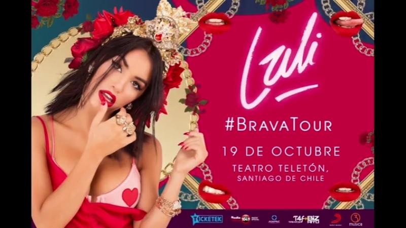 CHILE Ya tenemos fecha para BRAVAtour mi nuevo show! Les voy a presentar mi nuevo disco BRAVA! Que felicidad! Ahí nos vemos🌹