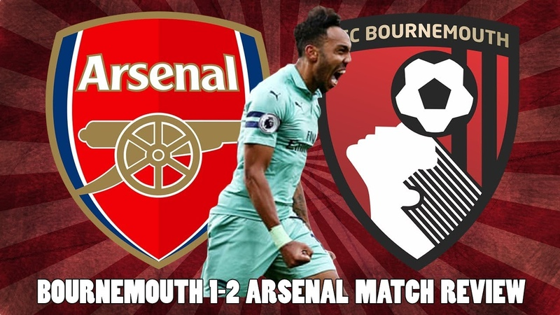 Bournemouth 1 2 Arsenal Match Review Aubameyang Scores Winning Goal For Arsenal