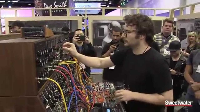 Moog Modular System 55 Demonstration - Sweetwater at Winter NAMM