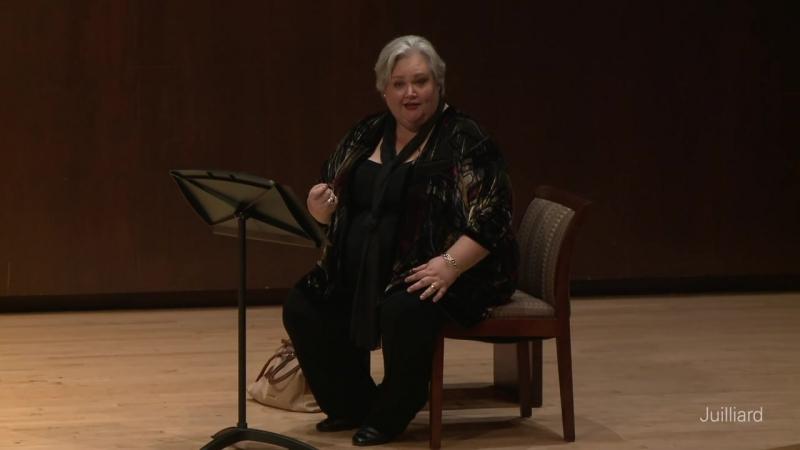 Kelsey Lauritano, mezzo-soprano Michał Biel, piano - Juilliard Stephanie Blythe Master Class