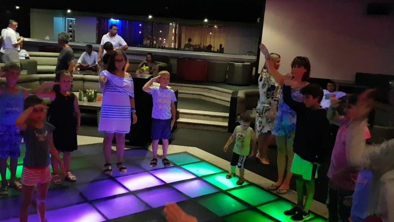 Мини-диско в Лас Вегасе